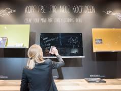 Das war Programm in Köln (und bei Neff): Kopf frei für neue Ideen. Foto: KölnMesse