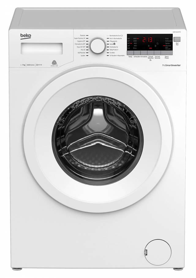 beko waschmaschine wmb 71643 ptm. Black Bedroom Furniture Sets. Home Design Ideas