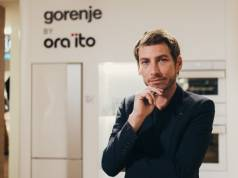 Auch er sorgt für den Wiedererkennungswert und den Gorenje- (Design)Markenkern: Ora-Ϊto.