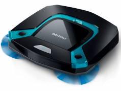 Philips Saugroboter SmartPro Easy mit nur 5,8 cm Höhe.