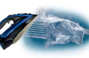 Tefal Bügeleisen Turbo Pro Anti-Calc mit Pyrolyse-Fähigkeit.