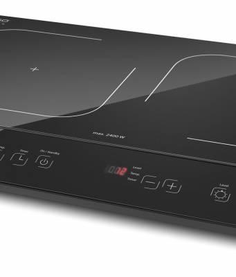 Caso Induktionskochfeld Maître 3500 mit PowerSharing Technologie für zwei Kochfelder.