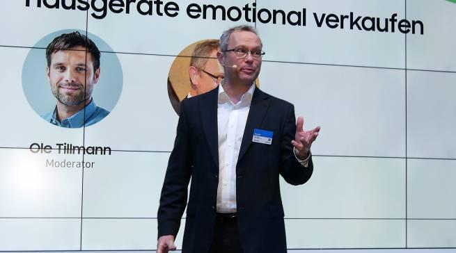 Gefühlsmoment Waschmaschine? Ingo Vogel erklärte, wie sich Hausgeräte emotional verkaufen lassen.
