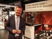 """Uwe Meergans, BSH Consumer Products, Leitung Vertriebsregion Central, Eastern Europe: """"In entspannter Atmosphäre stehen die passenden Experten Rede und Antwort – die ProTour ist eine ideale Plattform."""""""