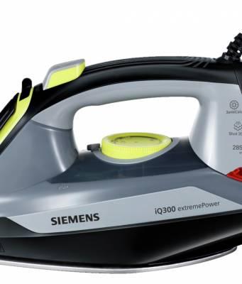 Siemens Dampfbügeleisen iQ300 XTRM mit 2850 Watt Leistung.