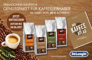 De'Longhi: Kaffeevollautomat kaufen - Genusspaket sichern.