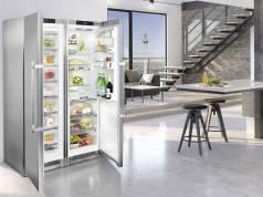 Bekam allerhöchste Design-Ehren: Side-by-Side SBSes 8663 von Liebherr.
