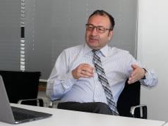 """""""Wir haben den Anspruch, mit Weißer Ware, TV und Audio Vollsortimenter zu sein, da sind wir die einzigen in Europa"""", Sühel Semerci, Geschäftsführer Grundig Intermedia."""