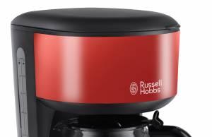 Russell Hobbs Colours Plus+ Glas-Kaffeemaschine mit Brausekopf-Technologie.