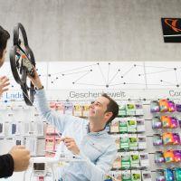 Mit seinem Serviceangebot im Erlebnisambiente will Saturn Connect die Anlaufstelle für technikaffine Kunden in den Innenstädten werden.