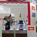 Den guten Ruf deutscher Produkte in China unterstrich Melitta mit Deutschland-Fähnchen.