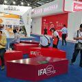 Hinweise auf die IFA machten deutlich: Hinter der CE China steckt das geballte Knowhow der Messe Berlin.