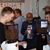 Kaffeebohnen aus aller Welt standen im Mittelpunkt des Interesses.