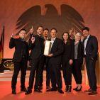 """Die Sonderauszeichnung """"Designteam des Jahres"""" erhielt die Kreativmannschaft von Braun Household."""