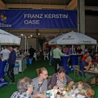 Mit westfälischen Köstlichkeiten wie auch einem leckeren Smoothie wurden die Besucher der Hausmesse verwöhnt.