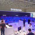 Samsung dankt seiner engagierten Standbesatzung.