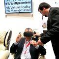 Unbeschreiblicher Jungbrunnen: Der VR Massagesessel.